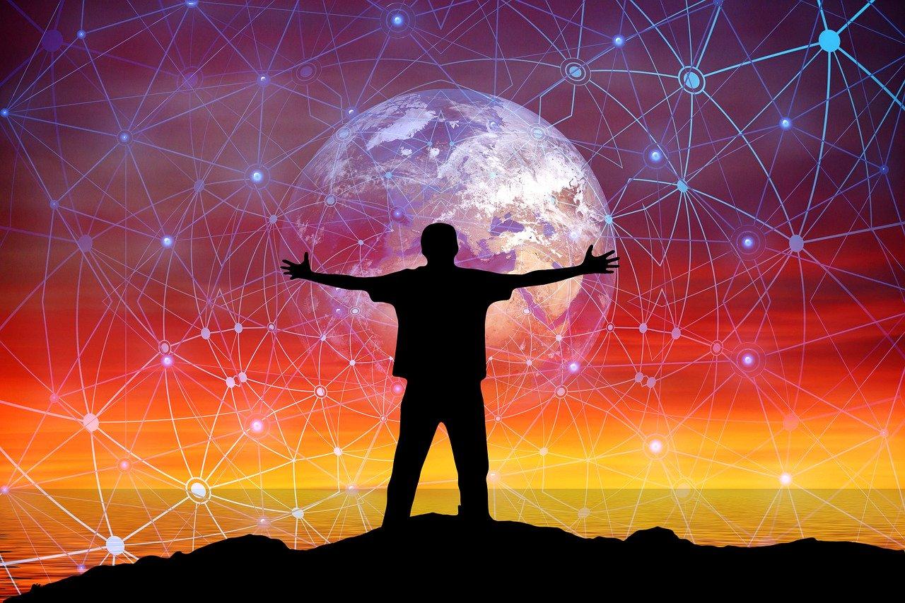 network, hug, embrace